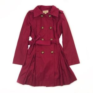 Michael Kors Long Double Breasted Trench Coat